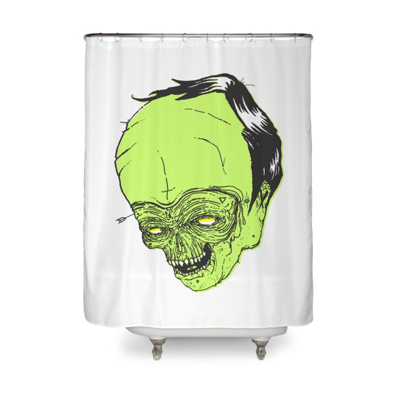 Swingset Creeper Home Shower Curtain by Garrett Shane Bryant