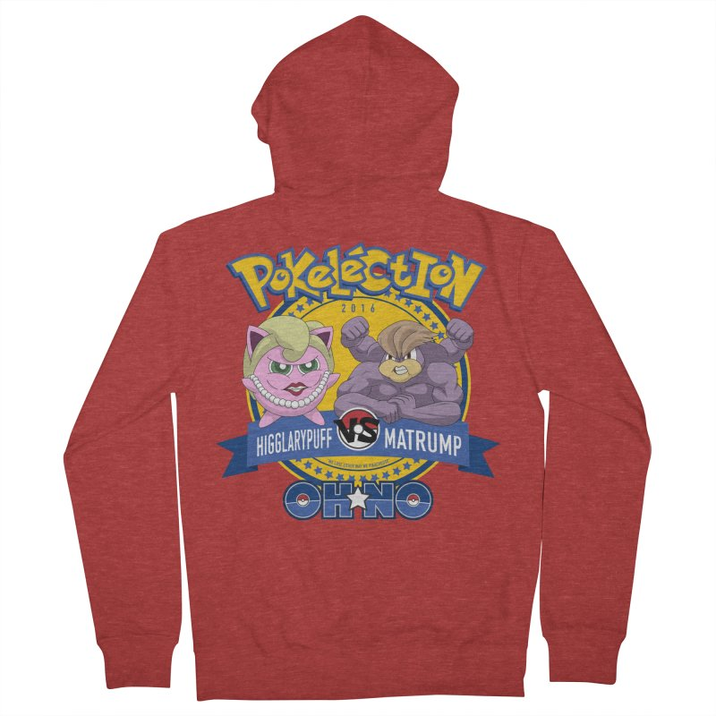 Pokelection OH NO! Men's Zip-Up Hoody by GabachoTrece's Artist Shop