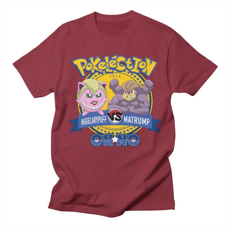 Pokelection OH NO! Men's T-shirt by GabachoTrece's Artist Shop