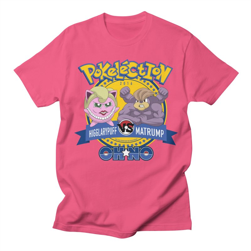 Pokelection OH NO! Men's T-Shirt by GabachoTrece's Artist Shop