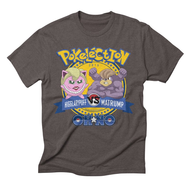 Pokelection OH NO! Men's Triblend T-shirt by GabachoTrece's Artist Shop