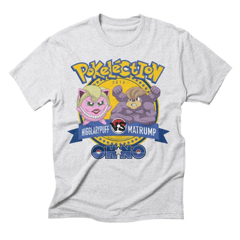 Pokelection OH NO! Men's Triblend T-shirt by GabachoTrece's Artist Shop