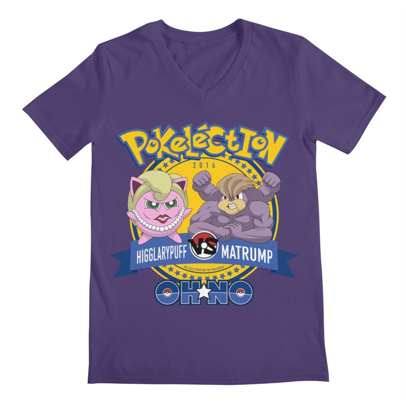 Pokelection OH NO! Men's V-Neck by GabachoTrece's Artist Shop