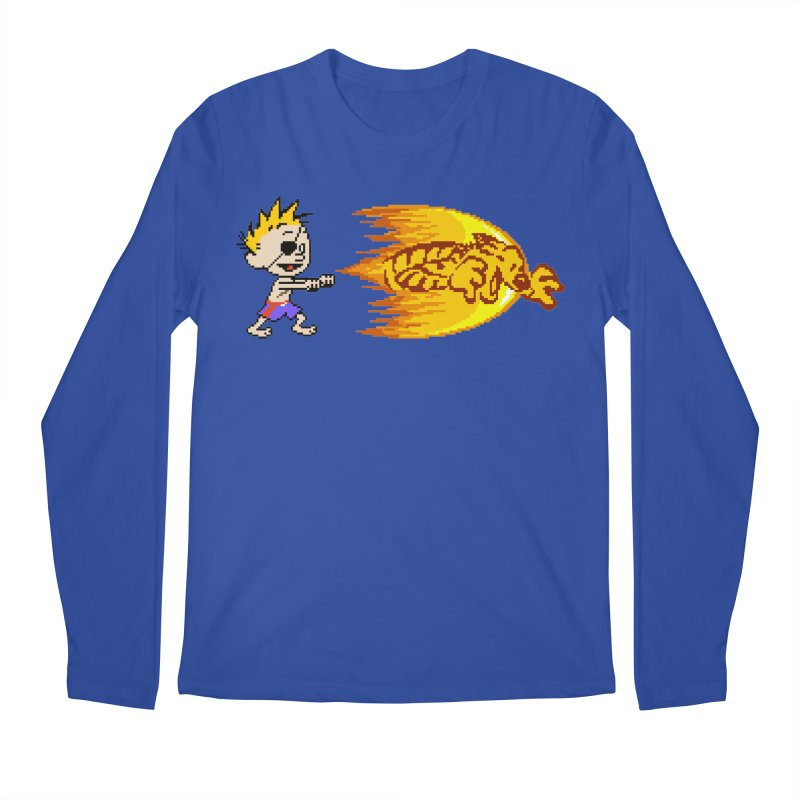 Tigershot Men's Longsleeve T-Shirt by GabachoTrece's Artist Shop