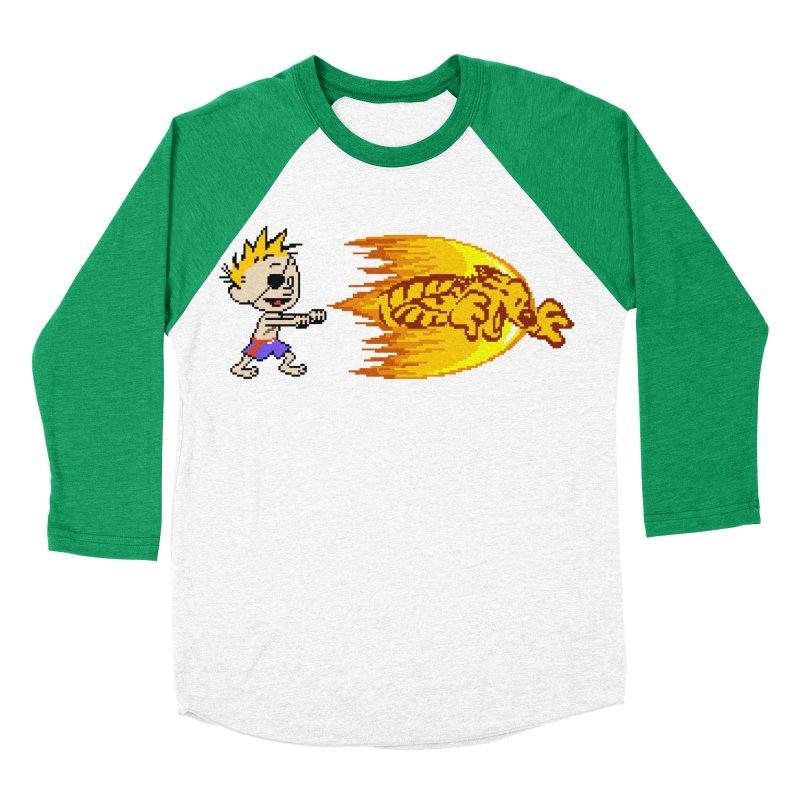 Tigershot Men's Baseball Triblend T-Shirt by GabachoTrece's Artist Shop