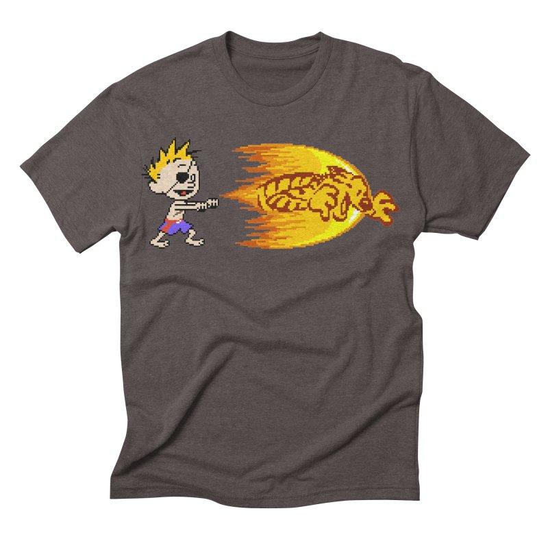 Tigershot Men's Triblend T-shirt by GabachoTrece's Artist Shop