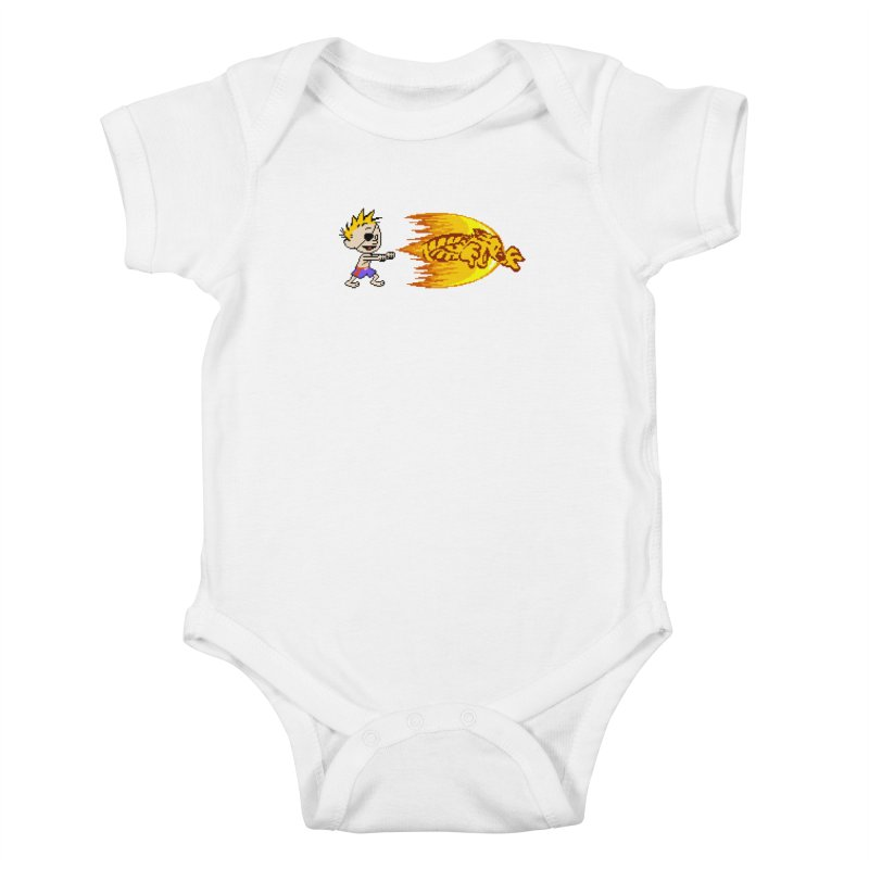 Tigershot Kids Baby Bodysuit by GabachoTrece's Artist Shop