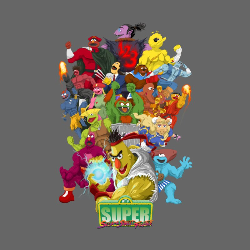 Super Sesame Street Fighter None  by GabachoTrece's Artist Shop