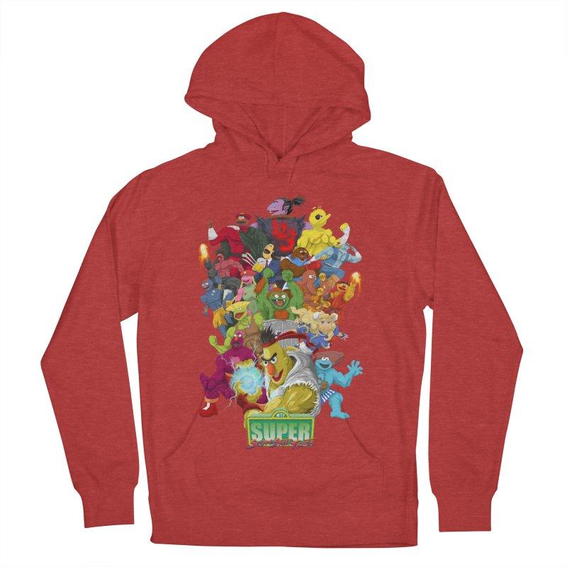 Super Sesame Street Fighter Women's Pullover Hoody by GabachoTrece's Artist Shop