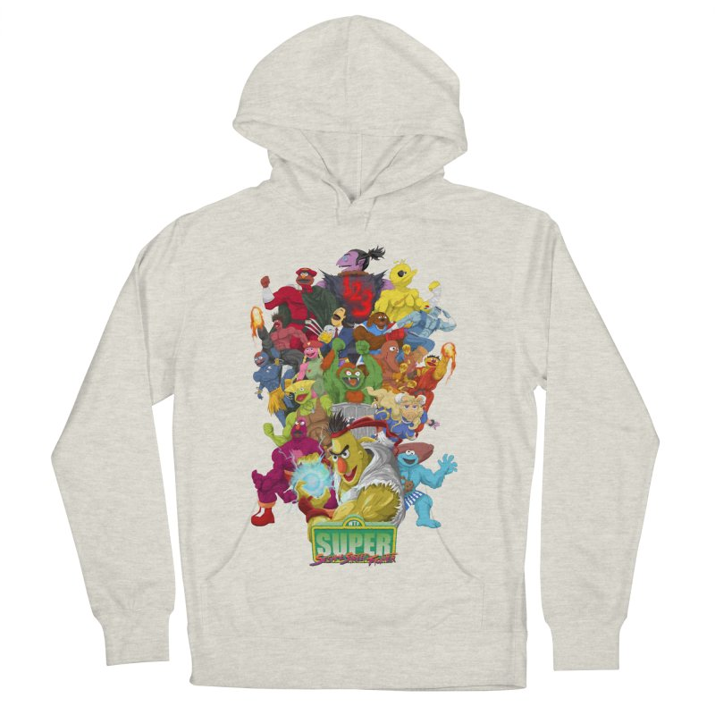 Super Sesame Street Fighter Women's Pullover Hoody by GabachoTrece's Artist Shop