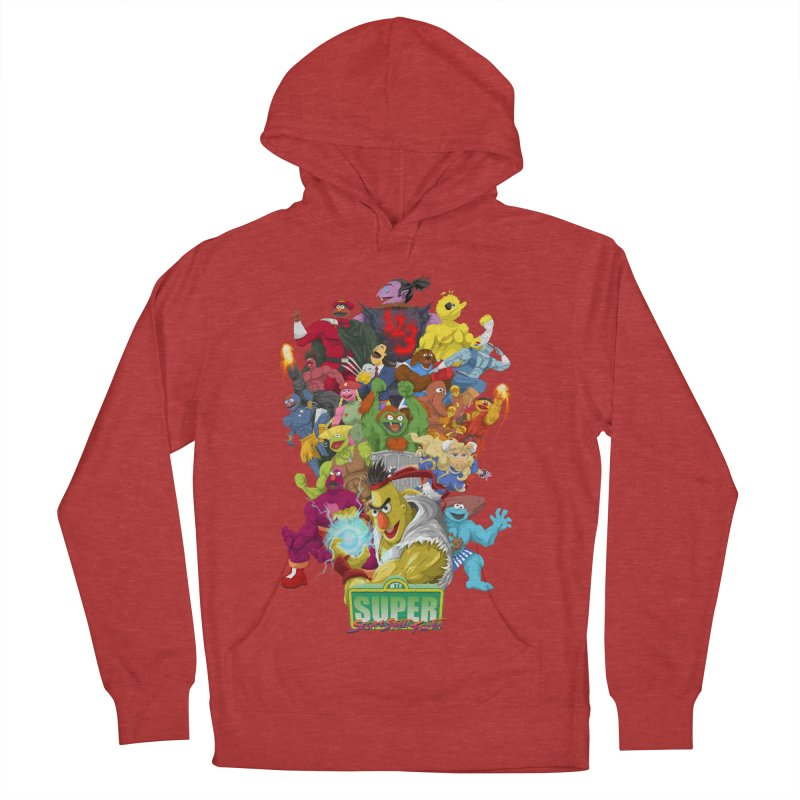 Super Sesame Street Fighter Men's Pullover Hoody by GabachoTrece's Artist Shop