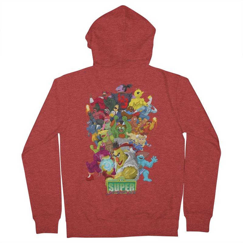 Super Sesame Street Fighter Women's Zip-Up Hoody by GabachoTrece's Artist Shop