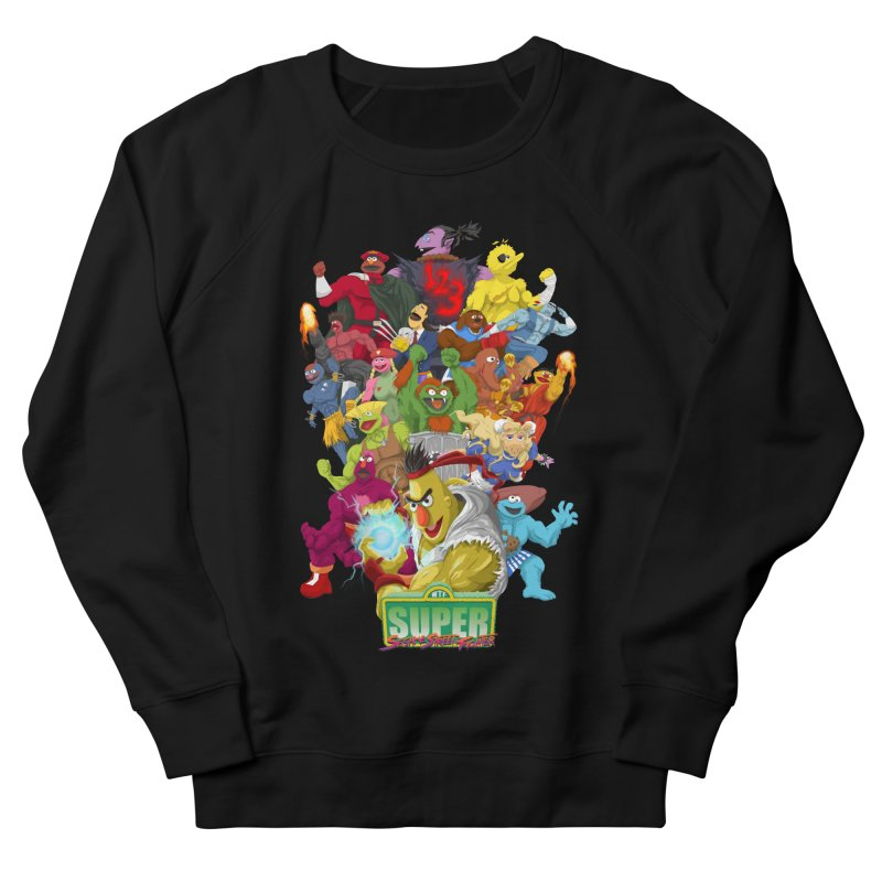 Super Sesame Street Fighter Men's Sweatshirt by GabachoTrece's Artist Shop