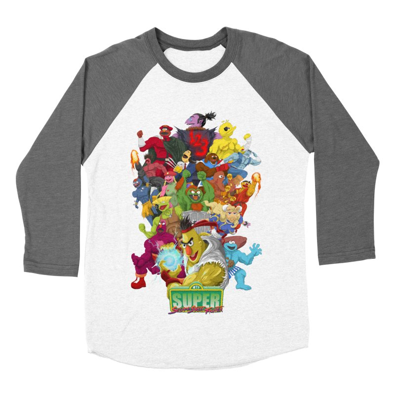 Super Sesame Street Fighter   by GabachoTrece's Artist Shop