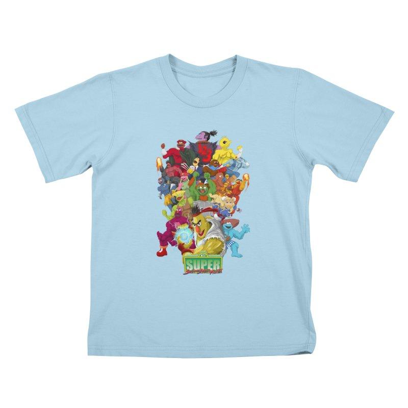 Super Sesame Street Fighter   by GabachoTrece's Artist Shop