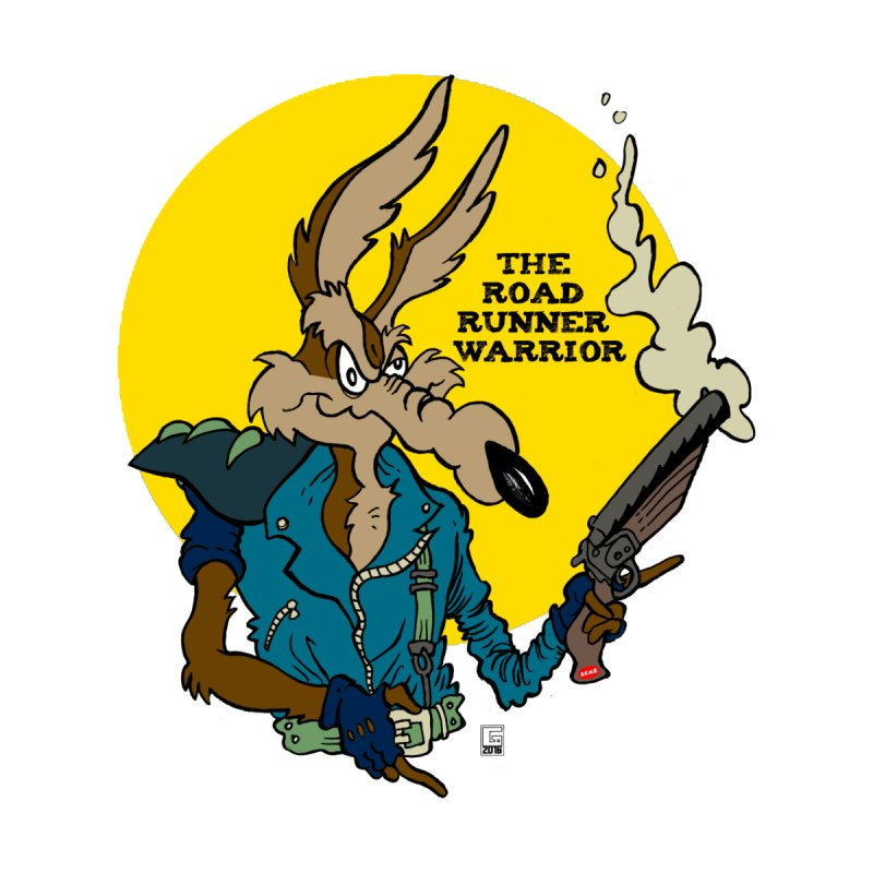 The Road Runner Warrior   by Gabe Ostley's Artist Shop