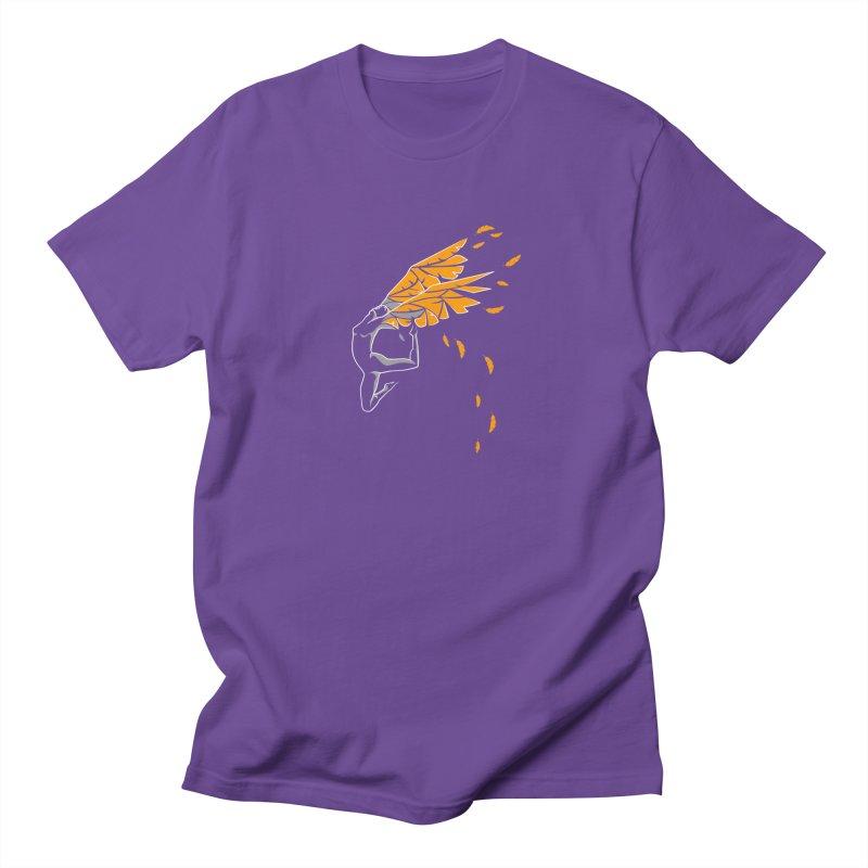 Dance & fly Men's Regular T-Shirt by Amit's Artist Shop