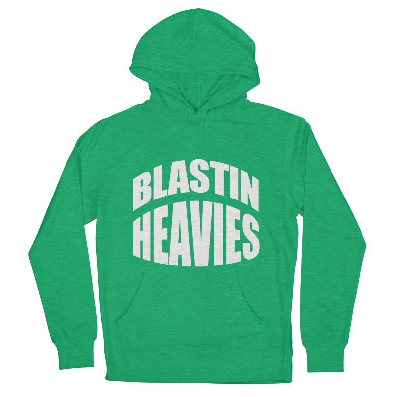 BLASTIN HEAVIES Original Women's Pullover Hoody by Gamble's Artist Shop