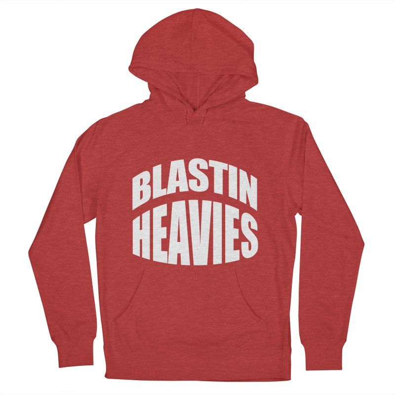 BLASTIN HEAVIES Original Men's Pullover Hoody by Gamble's Artist Shop