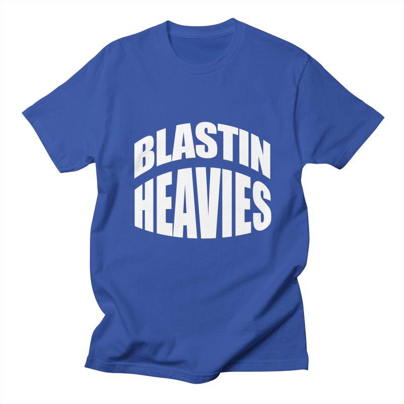 BLASTIN HEAVIES Original Men's T-Shirt by Gamble's Artist Shop