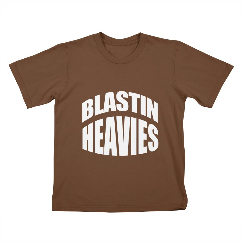 BLASTIN HEAVIES Original Kids T-Shirt by Gamble's Artist Shop