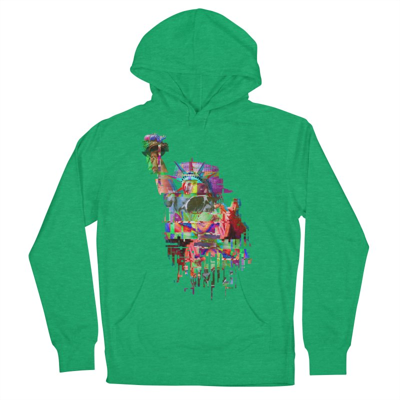 Understanding Liberty Women's Pullover Hoody by Gamble's Artist Shop
