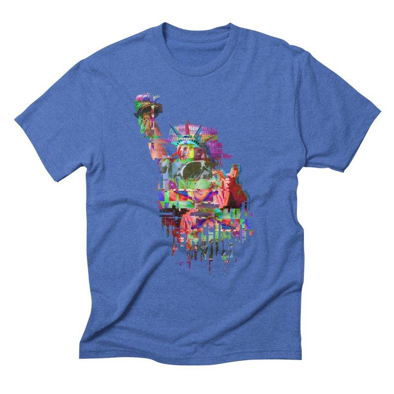 Understanding Liberty Men's Triblend T-Shirt by Gamble's Artist Shop