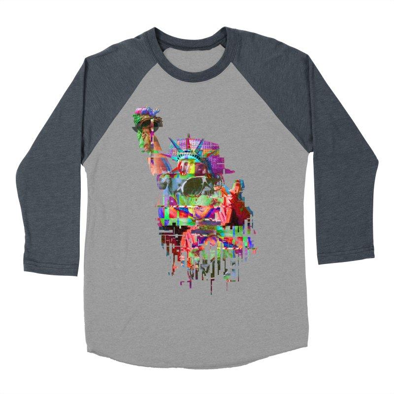 Understanding Liberty Women's Baseball Triblend T-Shirt by Gamble's Artist Shop