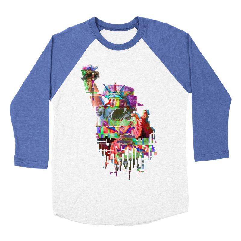 Understanding Liberty Men's Baseball Triblend T-Shirt by Gamble's Artist Shop