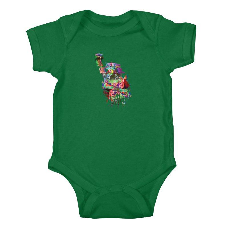 Understanding Liberty Kids Baby Bodysuit by Gamble's Artist Shop