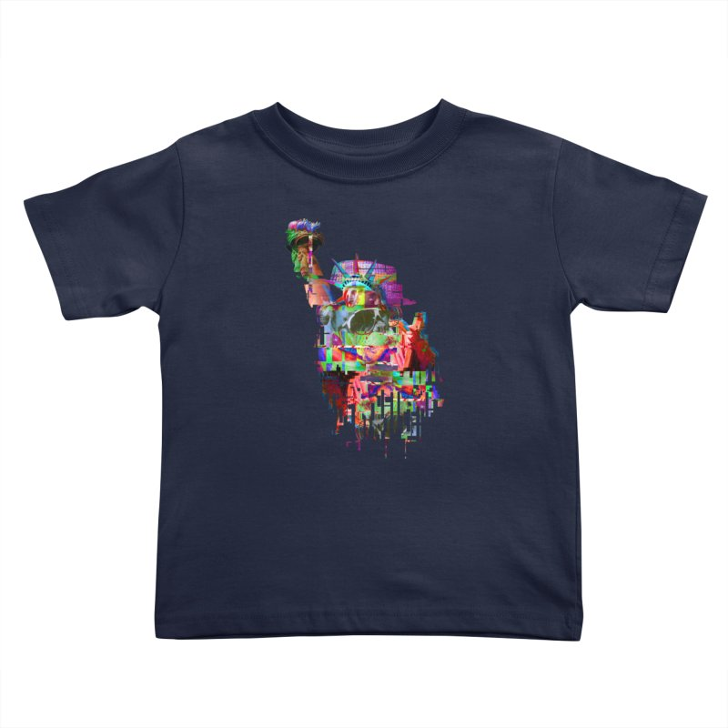 Understanding Liberty Kids Toddler T-Shirt by Gamble's Artist Shop