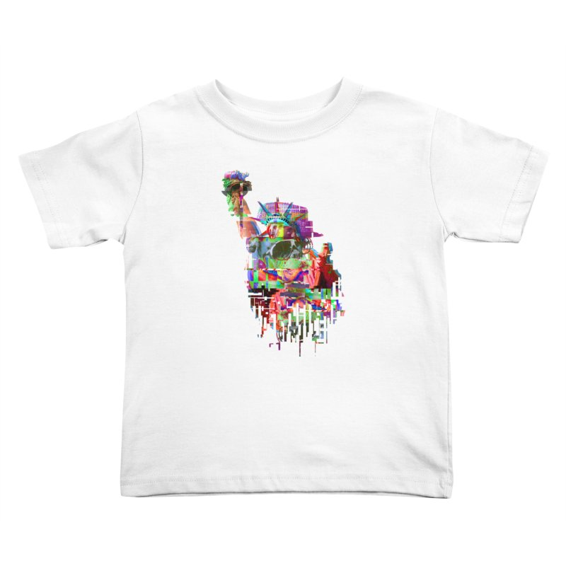 Understanding Liberty Kids Toddler T-Shirt by Gamble's Artist Shop