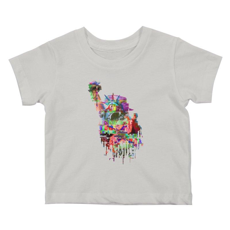 Understanding Liberty Kids Baby T-Shirt by Gamble's Artist Shop
