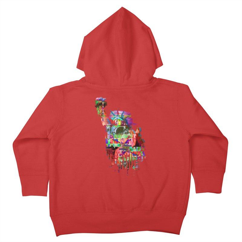 Understanding Liberty Kids Toddler Zip-Up Hoody by Gamble's Artist Shop