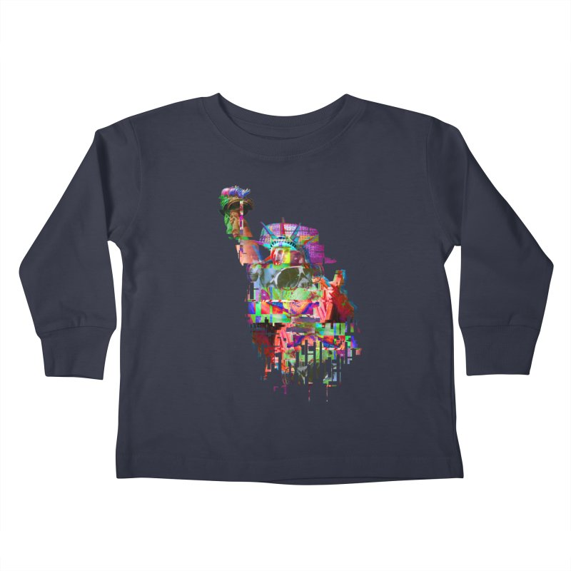 Understanding Liberty Kids Toddler Longsleeve T-Shirt by Gamble's Artist Shop