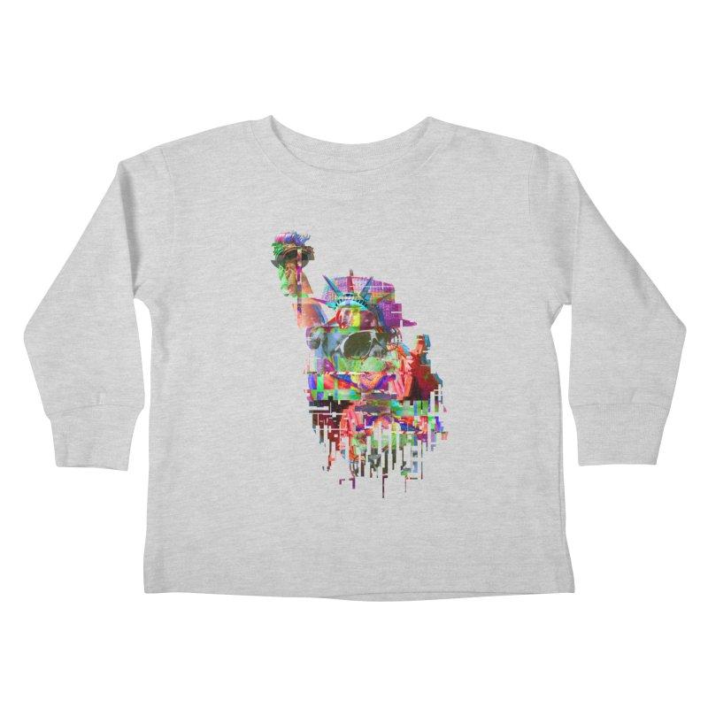 Understanding Liberty Kids Toddler Longsleeve T-Shirt by Gamble's Artist Shop