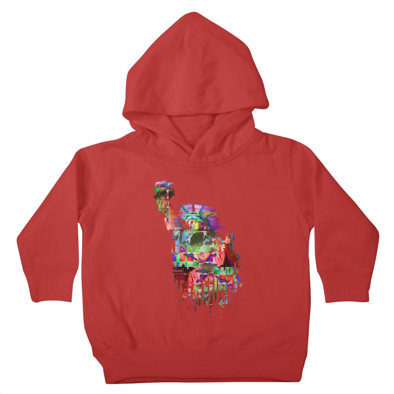 Understanding Liberty Kids Toddler Pullover Hoody by Gamble's Artist Shop