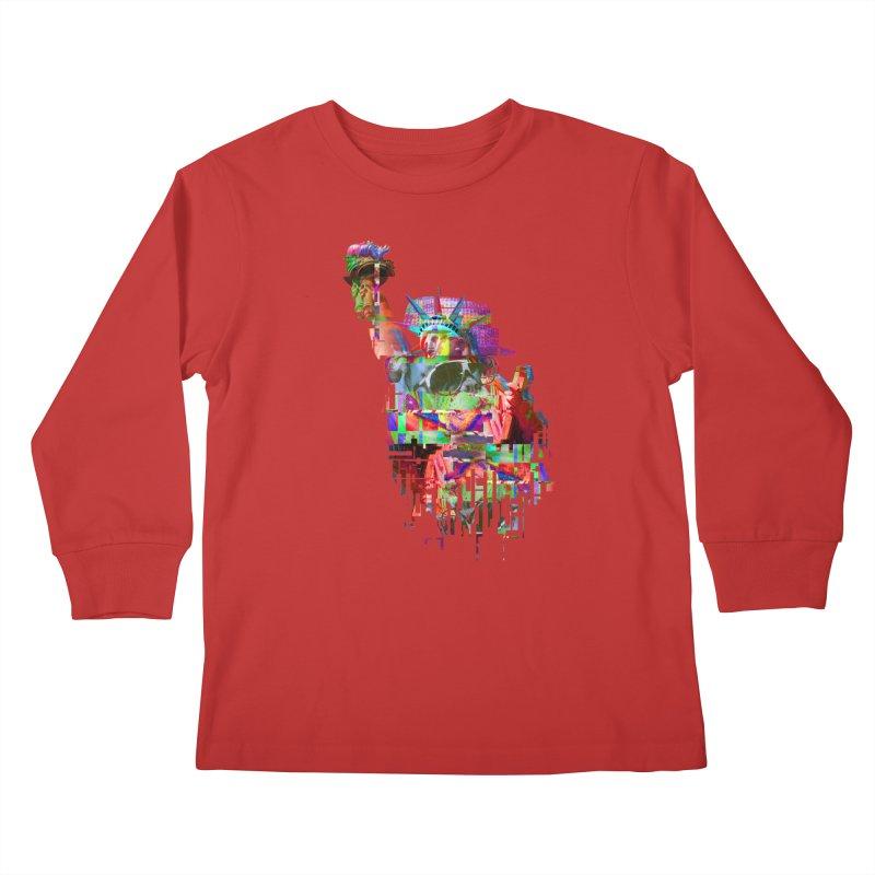 Understanding Liberty Kids Longsleeve T-Shirt by Gamble's Artist Shop
