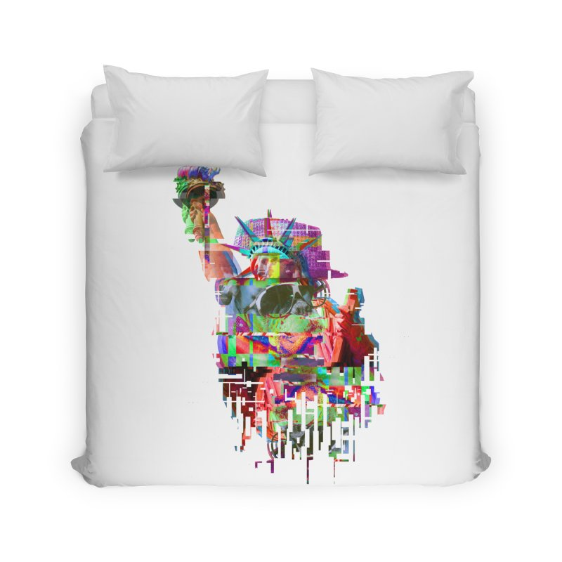 Understanding Liberty Home Duvet by Gamble's Artist Shop