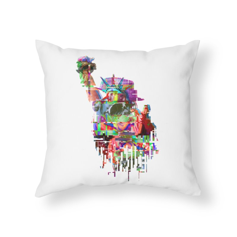 Understanding Liberty Home Throw Pillow by Gamble's Artist Shop