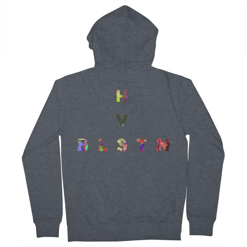 BLASTN HEAVIES GLITCH MIN Women's Zip-Up Hoody by Gamble's Artist Shop