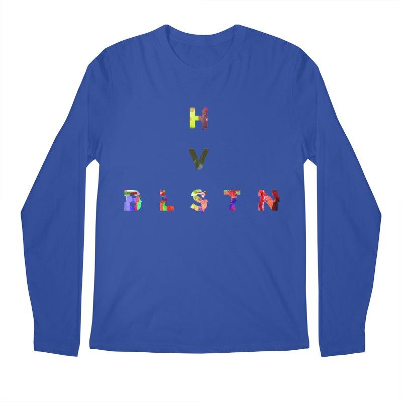BLASTN HEAVIES GLITCH MIN Men's Longsleeve T-Shirt by Gamble's Artist Shop