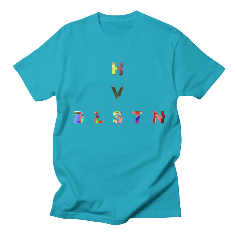 BLASTN HEAVIES GLITCH MIN Women's Unisex T-Shirt by Gamble's Artist Shop