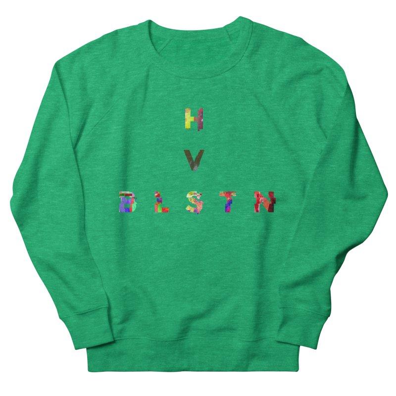 BLASTN HEAVIES GLITCH MIN Women's Sweatshirt by Gamble's Artist Shop