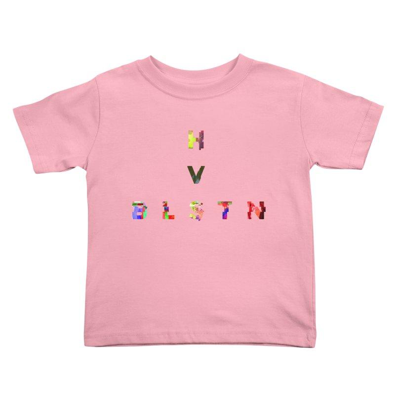 BLASTN HEAVIES GLITCH MIN Kids Toddler T-Shirt by Gamble's Artist Shop
