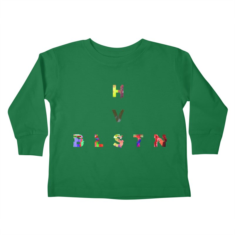 BLASTN HEAVIES GLITCH MIN Kids Toddler Longsleeve T-Shirt by Gamble's Artist Shop