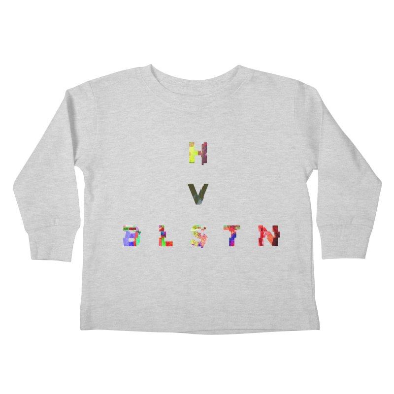 BLASTN HEAVIES GLITCH MIN Kids Toddler Longsleeve T-Shirt by Gamble's Artist Shop