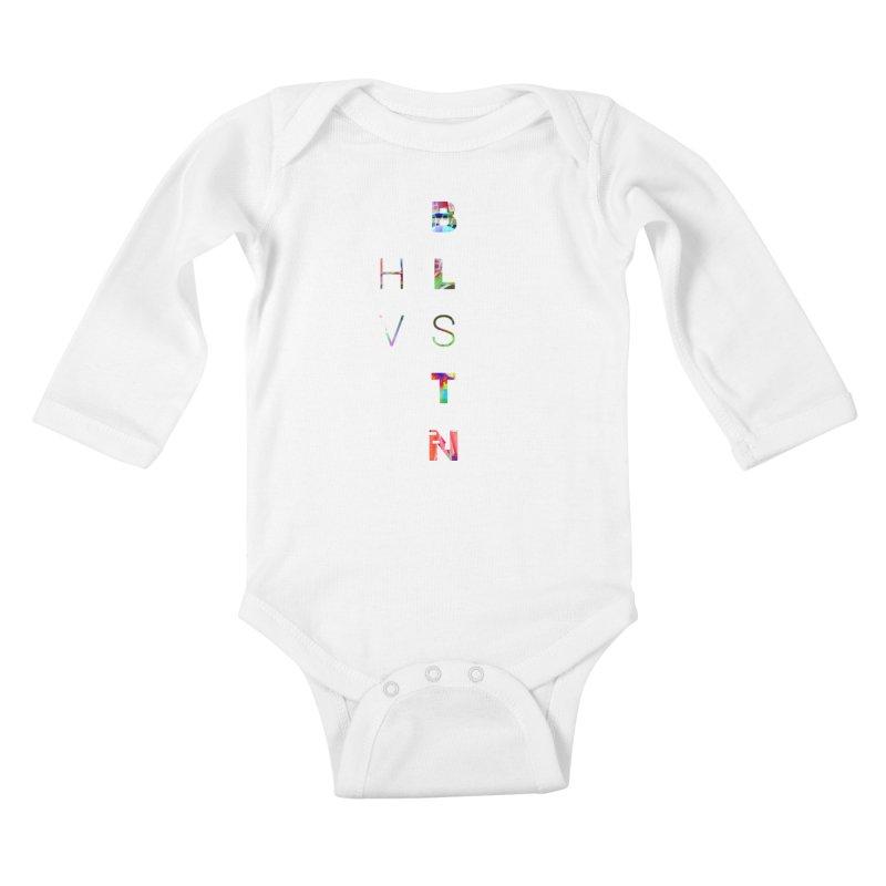 BLSTNHVSMINGLTCH Kids Baby Longsleeve Bodysuit by Gamble's Artist Shop