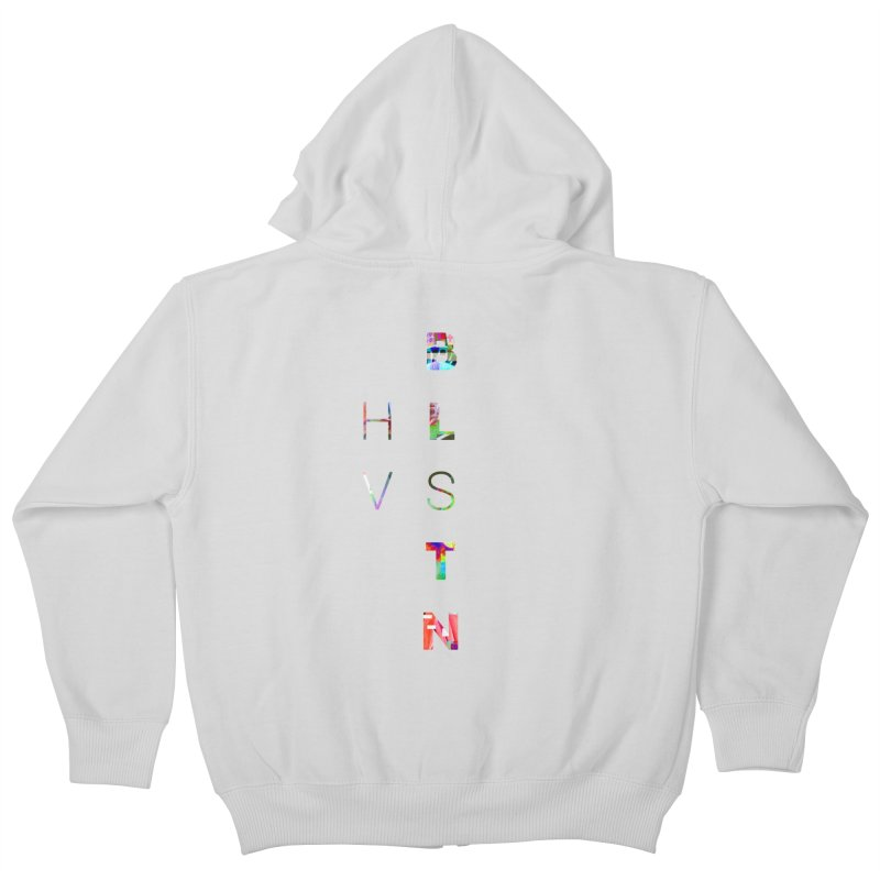 BLSTNHVSMINGLTCH Kids Zip-Up Hoody by Gamble's Artist Shop