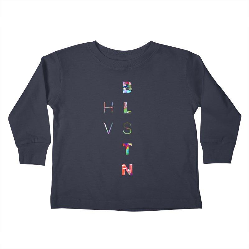 BLSTNHVSMINGLTCH Kids Toddler Longsleeve T-Shirt by Gamble's Artist Shop
